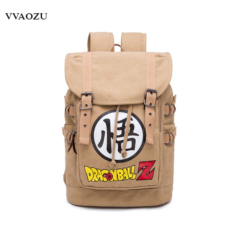 Dragon Ball Totoro Natsume Yuujinchou Attack on Titan Naruto Tokyo Ghoul Student Schoolbag Cartoon Canvas Backpack Latoptop Bag woman man wallet new fashion cartoon anime student purse chopper totoro naruto conan edgar attack on titan cool brown billfold