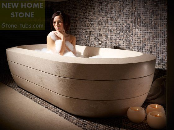 Stone Hot Tubs Luxury Large Limestone Hand Carved Bathtubs Natural ...