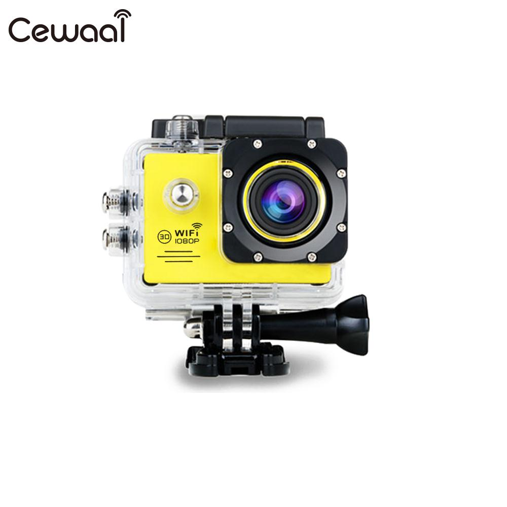 Cewaal 4 k 1080 p Action Sports Caméra 2.0 LCD 1080 p/60FPS Full HD WiFi Enregistreur Portable Mini 4 k 1080 p FULL HD Camera Action