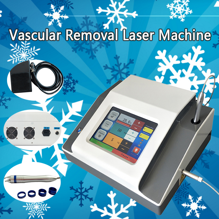 Effective Laser Veins Removal Equipment 980nm Diode Permanent Vascular Removal Machine For All Skin Tyes