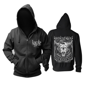Image 2 - Bloodhoof LAMB OF GOD Death Metal Concert Retro TOP hoodie Asian Size