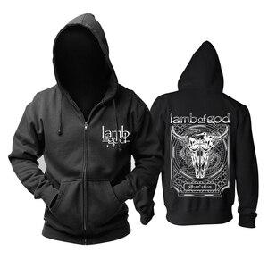 Image 2 - Bloodhoof LAMM GOTTES Tod Metall Konzert Retro TOP hoodie Asiatische Größe