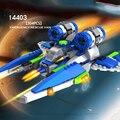 Espaço cogo blocos de construção brinquedos educativos para crianças presentes para crianças mini resgate navio de guerra estrela compatível com legoe