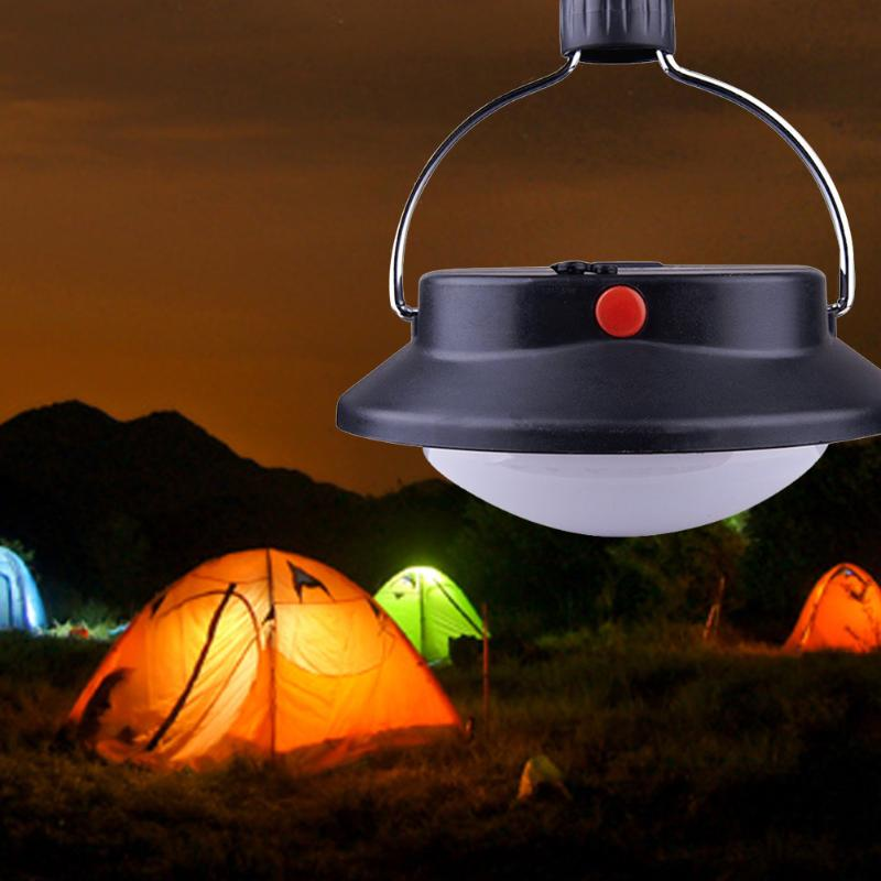 New Promotion Portable 60 LED Camping Outdoor Light Rechargeable Tent Umbrella Night Lamp 3 Lighting Modes Free Shipping