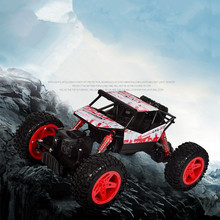 Hot sell radion control Mountain climbing truck 2.4G 1:18 4wd RC rock climging go anywhere vehicle car bigfoot off road kids toy