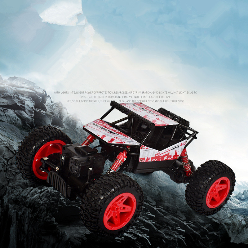 Hot sell radion control Mountain climbing truck 2 4G 1 18 4wd RC rock climging go