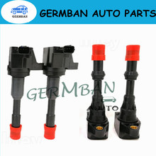 4PCS Rear/Front Ignition Coil For Honda Civic 7 8 VII VIII JAZZ FIT 2 3 II III 1.2 1.3 1.4 No#30520-PWA-003 30521-PWA-003