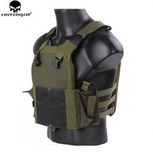 EMERSON NEW Tactical Vest Hunting Bulletproof Airsoft emersongear Plate Carrier Molle Waistcoat Combat Assault EM7353