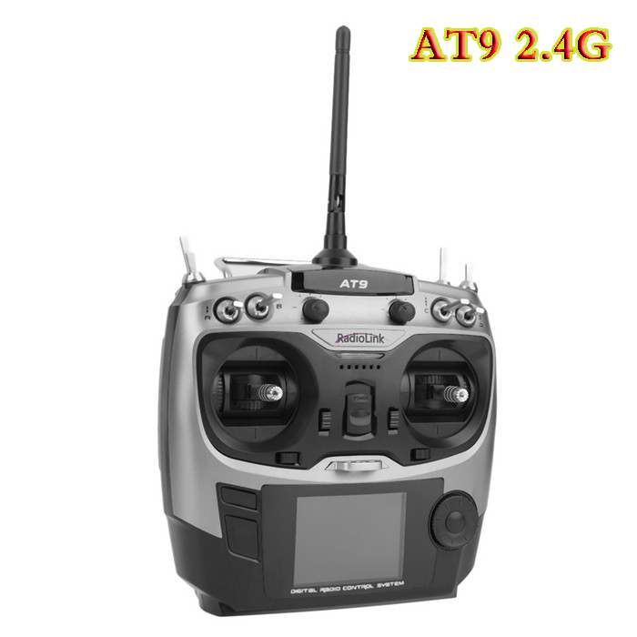 Free shipping Radiolink AT9 2.4 GHz 9 Channel Radio Transmitter and Receiver for RC Hobby