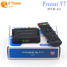 V7 Freesat HD Receptor de Satélite Digital Tv HD Decodificador de Satélite DVB-S2 Cccam Apoyo PowerVu Youpron Decodificador Completo 1080 P