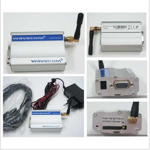 Free Shipping Bulk SMS Device Wavecom Fastrack M1306B RS232 Modem Q2406B 3g sms modem sim5360 similar function with sl8080 wavecom gsm gprs sms modem rs232 m2m devices