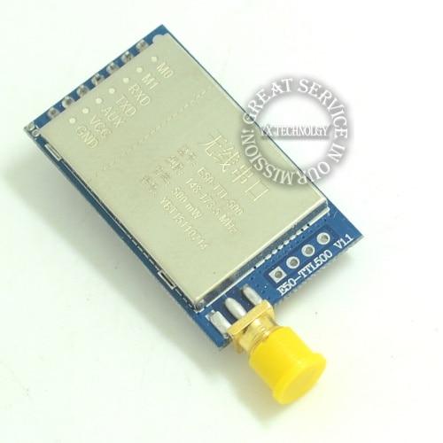 500mW (0.5W) power 170M wireless serial module 5000 meters distance digital radio