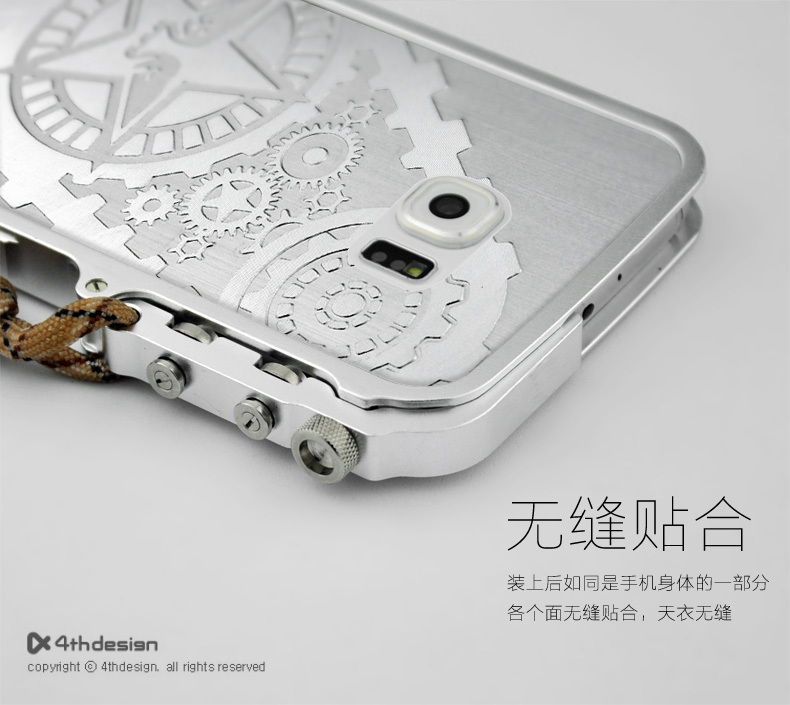 meet fbac0 32e28 S6 Screw fixation Design Mechanical Arm Aluminium Metal Case For Samsung  Galaxy S6 G9200 Metal Frame Cover on Aliexpress.com | Alibaba Group