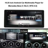 10,25 дюймов, автомобильный, мультимедийный плеер для Mercedes Benz C W205/GLC X253 класс 2015 2018 автомобильный gps навигация Android 7,1