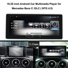 10.25 inch Car Multimedia Player for Mercedes Benz C W205/GLC X253 Class 2015-2018 Car GPS Navigation Android 7.1 octacore android 8 0 4 32gb 10 25 ips screen car dvd player gps navigation for mercedes benz c glc gls w205 glc x253 2014 2017