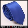 Alta calidad 8 cm Lazos para Los Hombres azul Real a granel Formal Corbatas gravatas de seda lot al por mayor de la Boda de Negocios Hombre corbatas