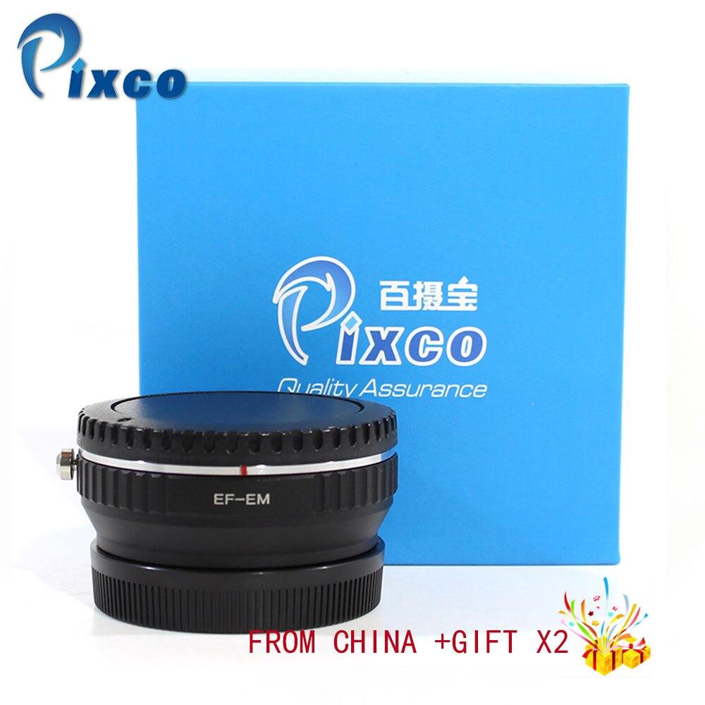 Pixco Pour EF-pour EOS M Focal Réducteur Vitesse Booster Turbo Adaptateur costume Pour Canon EF Lens pour pour canon EOS M M6 M5 M10 M3 M2 M