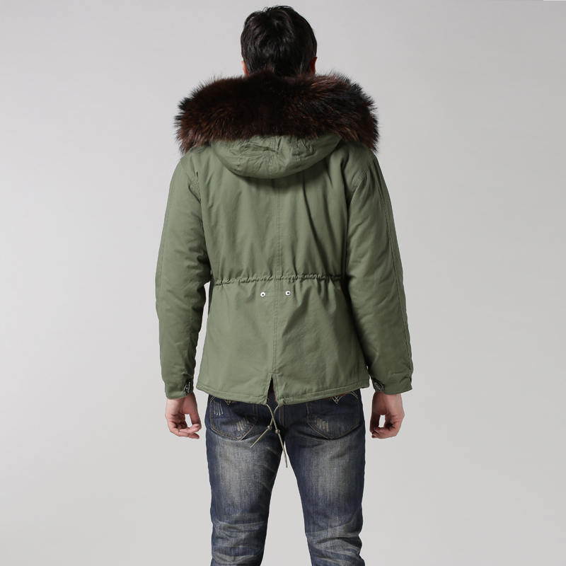 Épaissir Fourrure Taille Nouveau D'hiver Et Vraie Veste Faux De M La 2017 L Col Manteau Winter Mince Brun Plus 4xl Court xq0U1Yqw