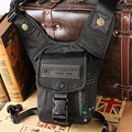 Multi-functional new men's Oxford cloth belt package Waist thigh legs package Military riding motorcycle messenger shoulder bag