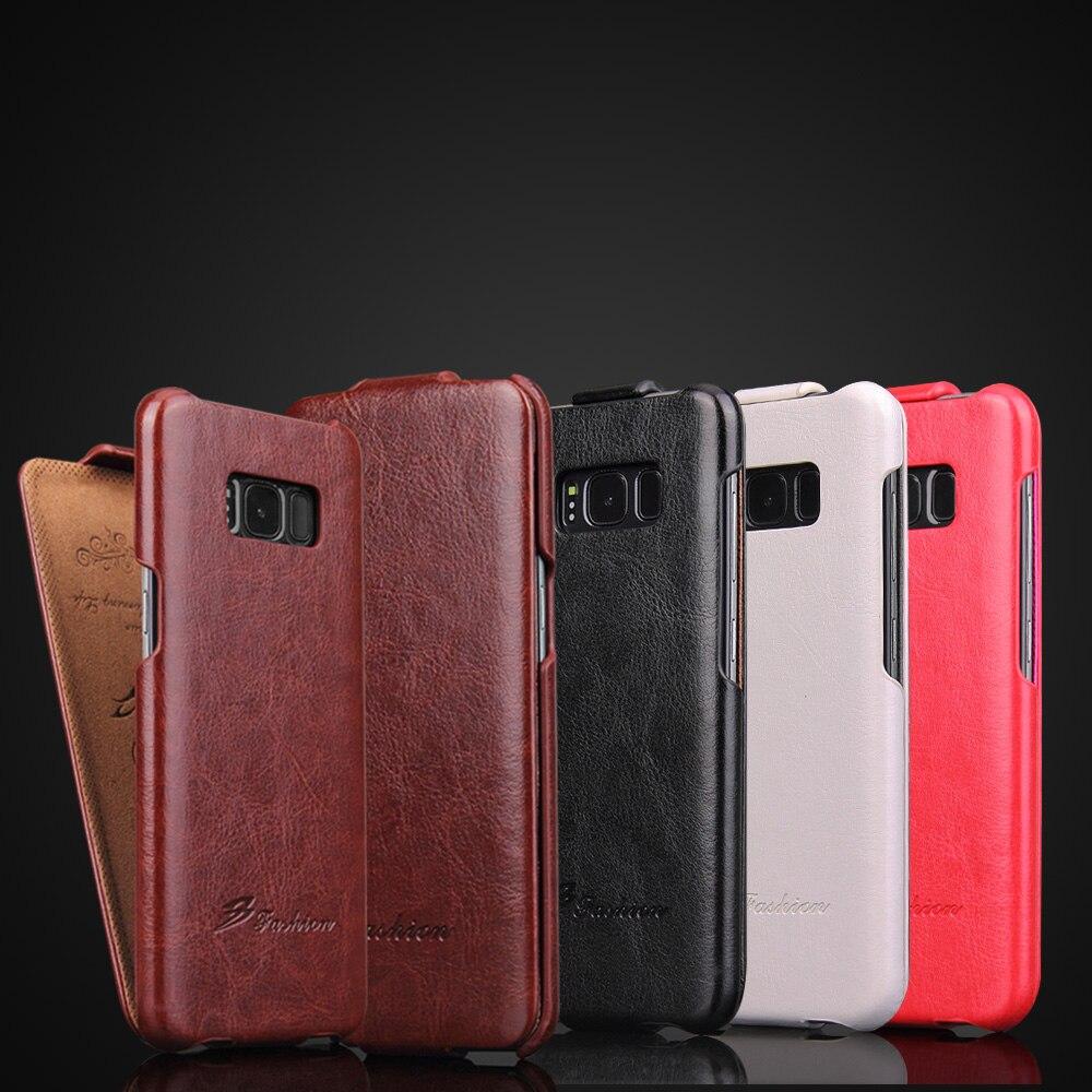 Nota luxo 8 Retro Couro Do Caso Da Aleta Para Samsung Galaxy S7edge S8 R64 Plus S9 S10 Vertical Tampa Do Telefone