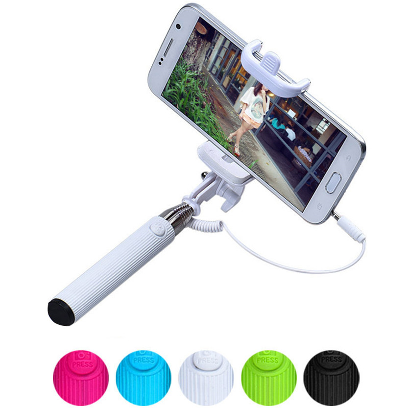 Handheld Extendable Self-Pole Tripod Monopod Stick For Smartphone July18#2