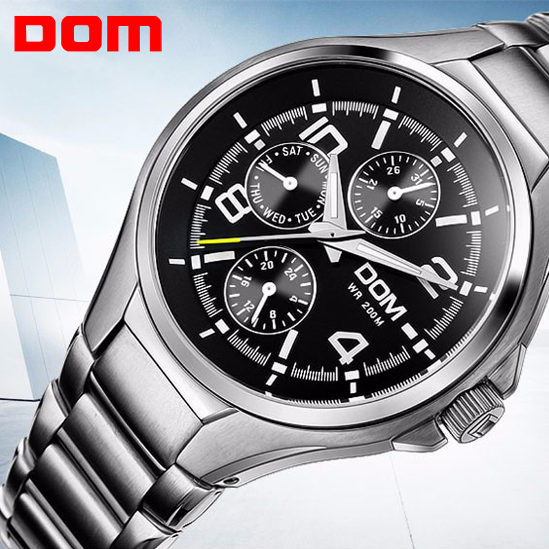 Top Brand Luxury Mens Watches Fashion Casual Sport Stainless Steel Wristwatch Waterproof Clock Army Military Relogio Masculino weide popular brand new fashion digital led watch men waterproof sport watches man white dial stainless steel relogio masculino