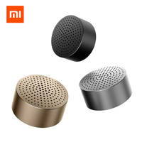 Original Xiaomi Bluetooth Speaker Micro SD Aux In Handsfree Call Stereo Portable Bluetooth 4 0 Aluminum