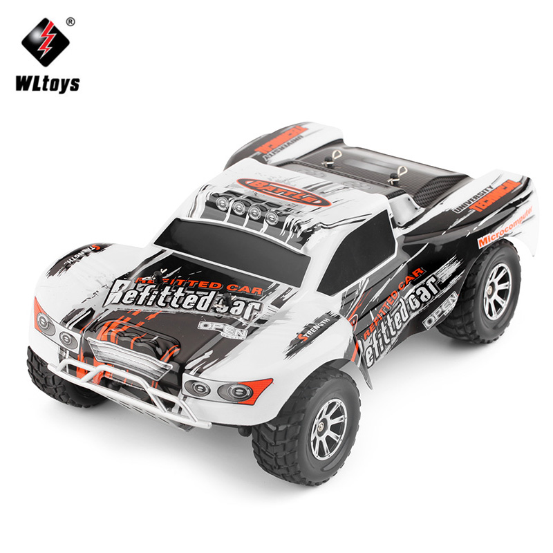 WLtoys A969-A 1:18 RC Car 4WD 4CH High Speed Remote Control SUV 35KM/h Off Road Racing Car 2.4GHz RC Monster Truck 1 18 4wd 4ch 2 4ghz rc car 50km h big foot high speed off road rc monster remote control radio racing car toys