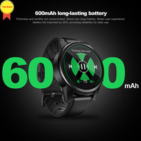 Бизнес часы 2019 Smart 4G телефон часы MTK6739 1,25G 16 Гб gps Смарт часы BT4 sim беспроводной доступ в Интернет, умные часы pk zeblaze Thor 4 dual