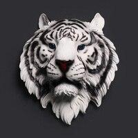 Decorative Tiger Head Wall Decorations Creative Animal Head Hanging Wall Decors