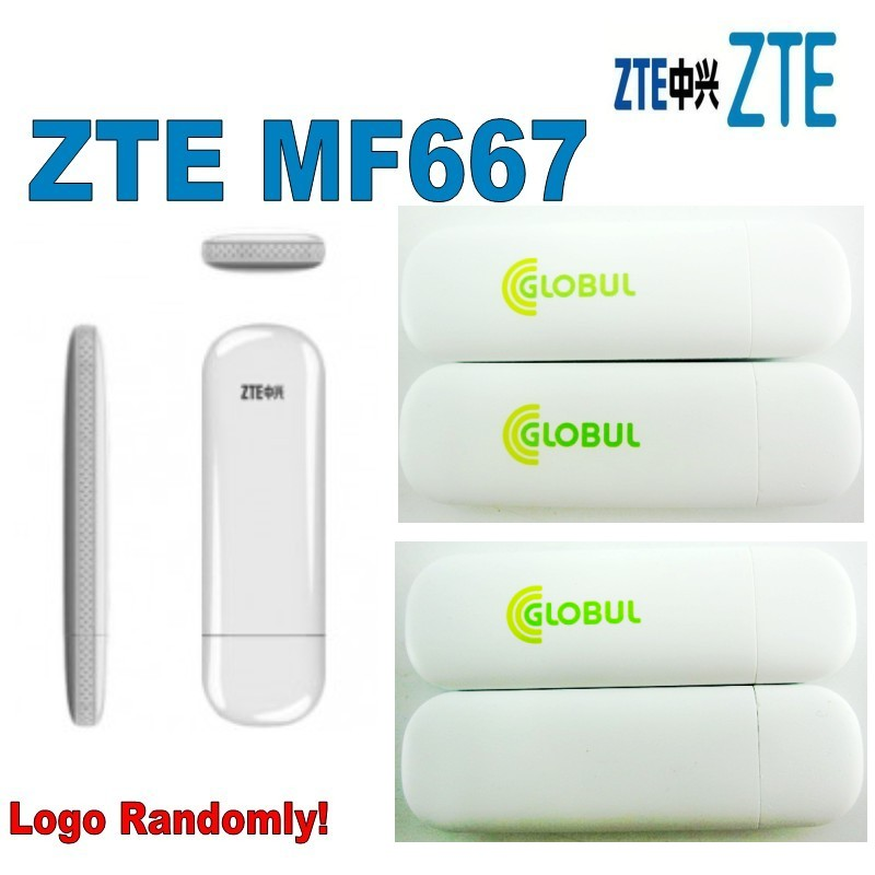 ZTE MF667 USB Modem - 21.6Mbps HSPA Internet Key Dongle