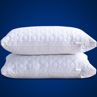 Bed Pillows for Sleeping Standard Size Super Soft QuiltedHotel PillowsThree Dimensional Shape Dust Mite Resistant Hypoallergenic