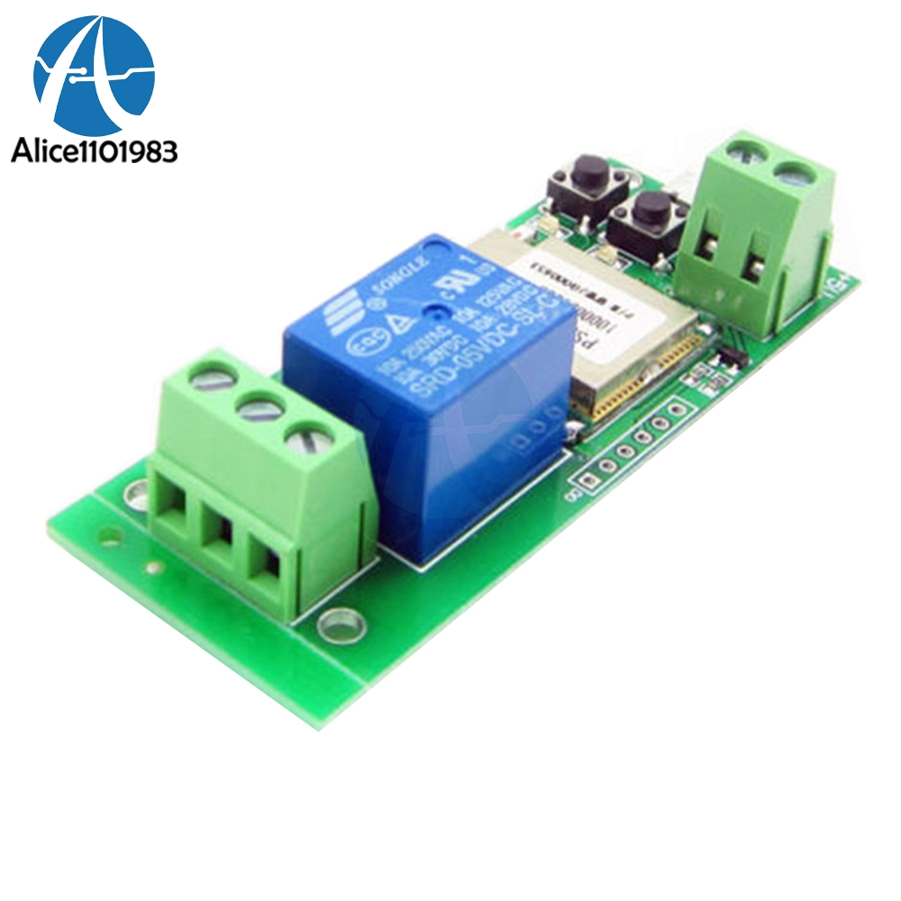 WiFi Wireless Smart Switch Relay Module DC 5v For Smart Home FOR Apple FOR Android App Control Self-lock 433Mhz Controller BoardWiFi Wireless Smart Switch Relay Module DC 5v For Smart Home FOR Apple FOR Android App Control Self-lock 433Mhz Controller Board