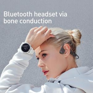 Image 2 - Baseus BC10骨伝導bluetoothイヤホンワイヤレスIPX5防水のbluetooth 5.0ヘッドセット超軽量ハイファイヘッドホンイヤフォン