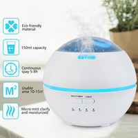 Aroma Lamp Auto Aroma Therapy Diffuser Nature Aromatherapy Humidifier Air Purifier Yoga Bath Bedtime Relaxation Spa Supply EU/UK