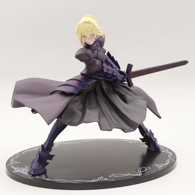 Fate Stay Night Saber Alter Action Figure 1/8 scale painted figure Fighting  Ver.
