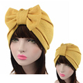 2016 Fashion Women Hats Twist Women's Multipurpose Bow Turban Hat Hijab Style Hair Accessory Bandana Hairdband