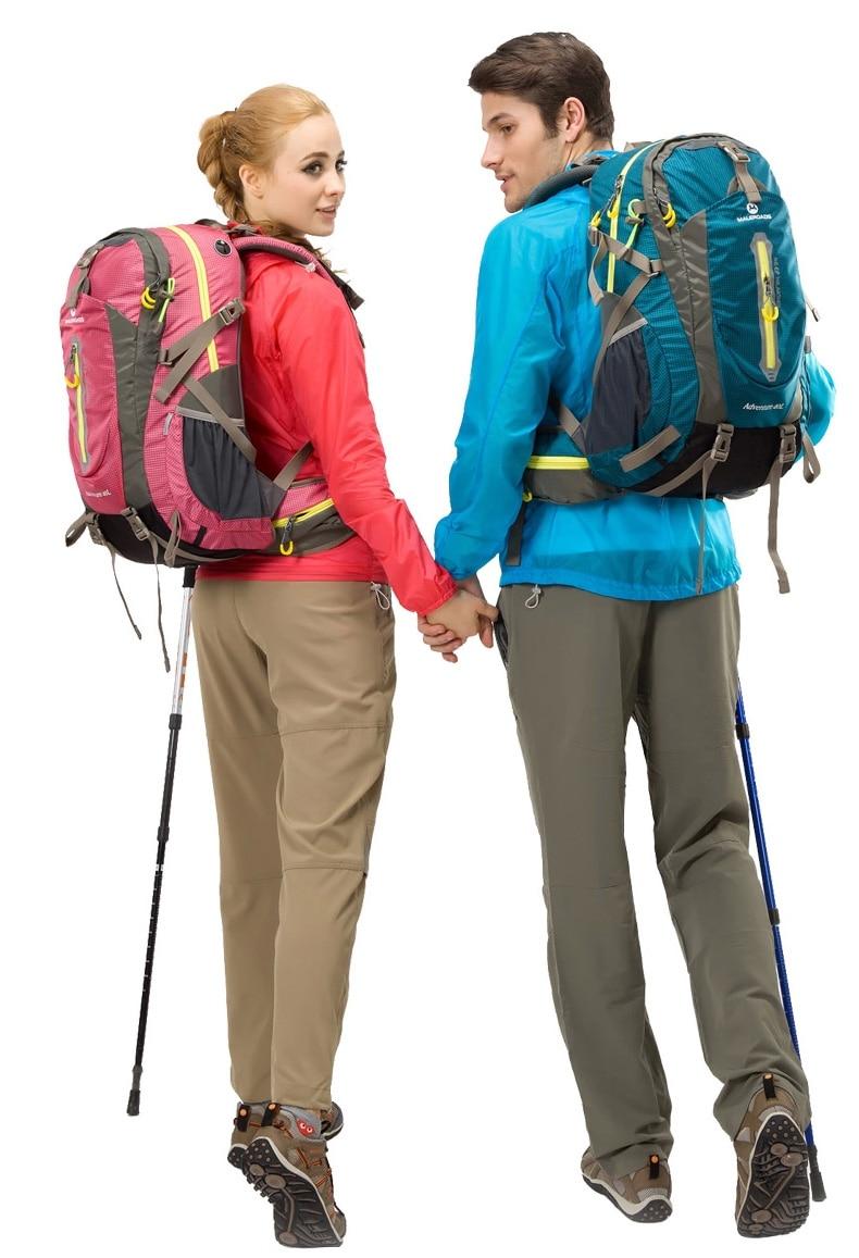 Maleroads Multi-viruela Campamento Caminata Alpinismo Mochila de Viaje Mochila para Hombres Wowen Subida Engranaje Trekking Mochila Portátil de Nuevo 50L - 6