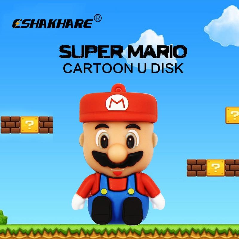 Real 8gb Cartoon Mixed Classical characters USB 2.0 Memory pendrive flash drive