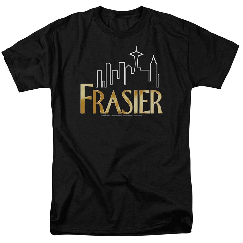 High Quality Custom Printed Tops Hipster Tees T Shirt Frasier Logo