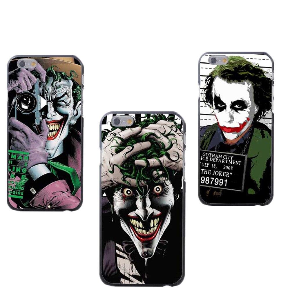 Suicide Squad Joker Harley Quinn Protective Joker Batman The Killing Joke Phone case Cover For iPhone 4 4S 5 5S SE 5C 6 6S 6Plus