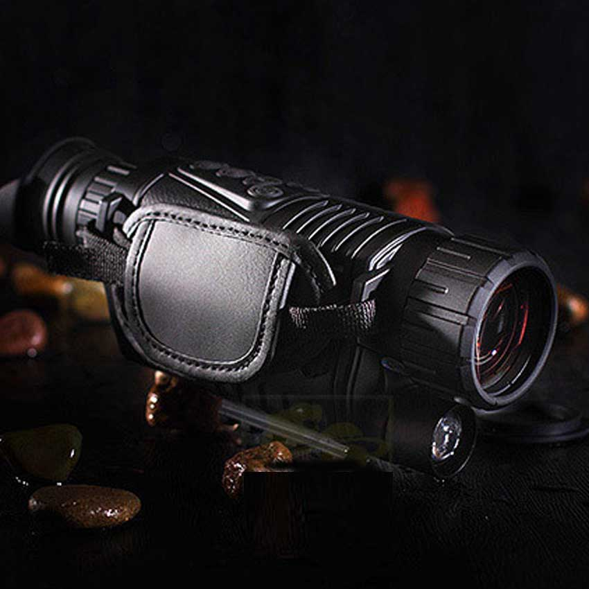 Best Digital Night Vision Monocular IR Wildlife 5x40mm 5MP HD Camera Hunting Infrared 850NM Night Vision Telescope 5x42 hunting night vision magnification camouflage high definition night vision telescope portable infrared camera video
