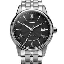CASIMA Люксовый бренд часы мужчин 2016 автоматические механические мужские наручные часы Бизнес платье часы водонепроницаемые #6904