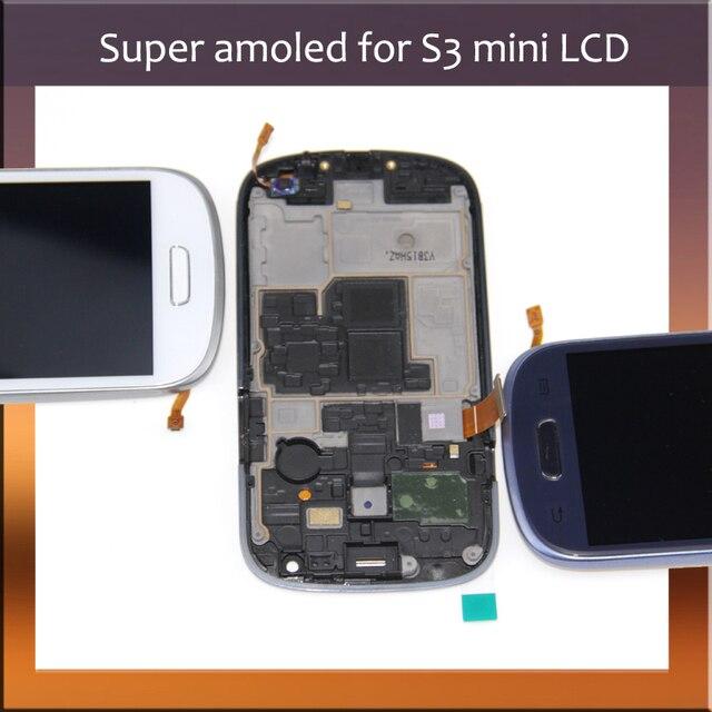 1a2965c2ae8 Para Samsung i8190 GT-i8190 i8195 i8200 Galaxy S3 Mini pantalla LCD + pantalla  táctil