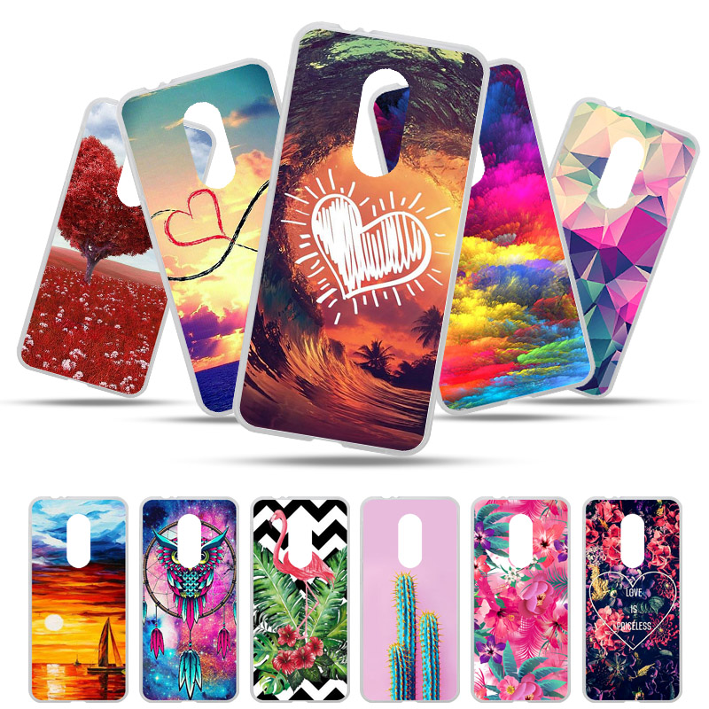 Bolomboy Painted Case For Vodafone Smart N9 Lite Case Silicone Soft TPU Cases For Vodafone Smart N9 Cover Wildflower Animal Bags figurine