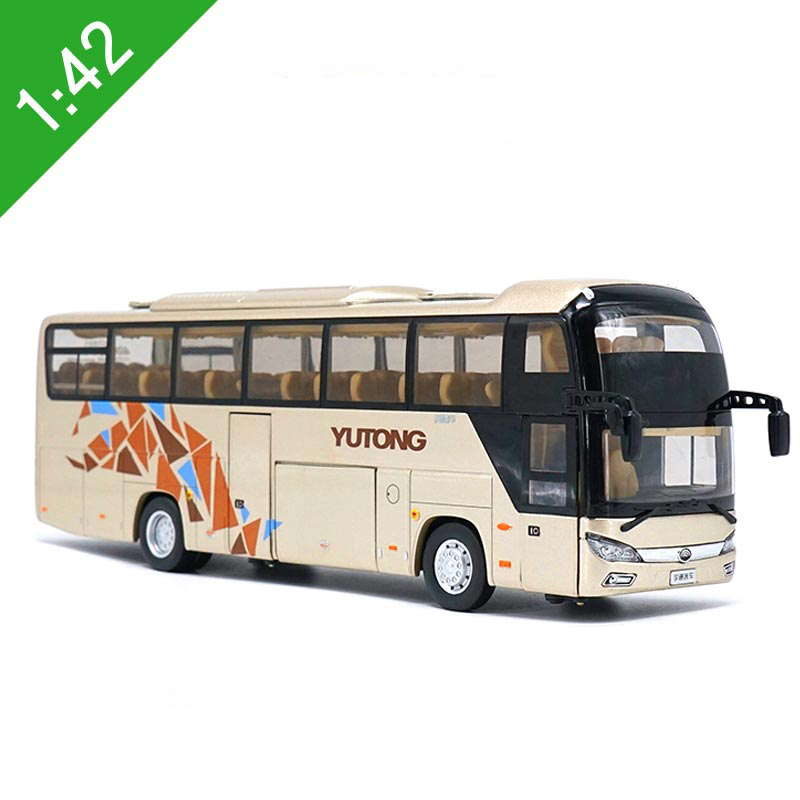 Chinesse Bus: New 1:43 Scale China YuTong Bus Coach ZK6118H Diecast