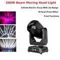 200 Вт LED Lyre Moving Head Light Beam Spot LED освещение вечеринки DJ сценический свет ночной клуб Led Moving Head Dj Controlador Disco