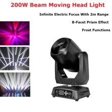 200W LED Lyre Moving Head Light Beam Spot LED Light Party Light DJ Stage Light Night Club Led Moving Head Dj Controlador Disco 6pcs lot newest adj light 9 heads led spider moving head beam light usa full color cree led moving head disco dj effect lighting