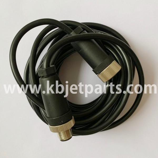 Uso para Imaje impresora de codificación de inyección de tinta codificador cable con conector A41371 uso para Imaje 9018, 9028, 9232, 9410, 9450 impresora