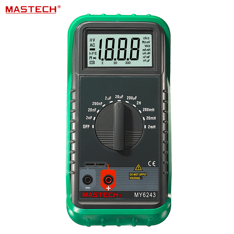 3 1/2 1999 Count Digital LC C / L Meter Inductance Capacitance Tester MASTECH MY6243
